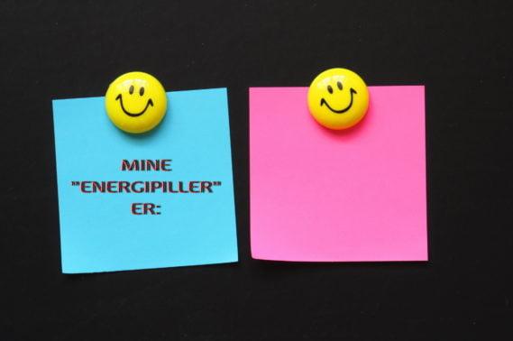 Hva gir deg energi og glede