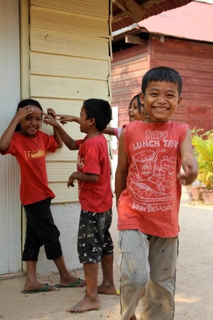 Blid gutt barnehjem Kambodsja