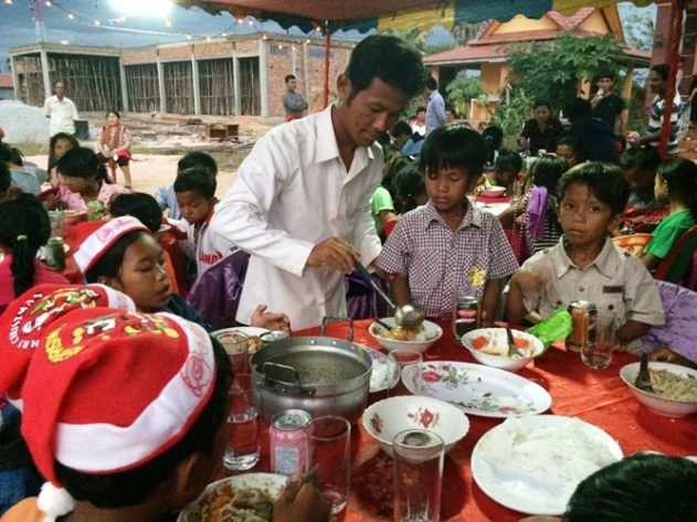 Støtte barnehjem Kambodsja